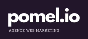 Logo pomme.io violet